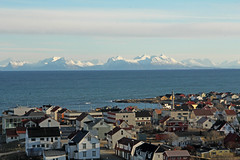 Andenes - Vesterlen (Norway) (Meteorry) Tags: sea mer lighthouse norway march norge town europe village viewpoint phare vue scandinavian fyr senja andenes andya vesterlen sj nordland andy meteorry 2013 nordlandfylke andenesfyr sjgata norwge