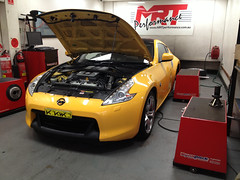 Nissan 370 Z (MRT performance) Tags: with software tune mrt custom dyno ecutek