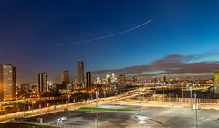 Stratford City (huangjiahui) Tags: london skyline night cityscape thecity olympicpark stratfordcity