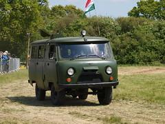 UAZ-452 (Megashorts) Tags: show uk england 4x4 military olympus hampshire vehicles soviet overlord vehicle e3 van 452 russian 50200mm zuiko swd 200mm zd denmead uaz 2013 solentoverlord uaz452 ppdcb4