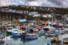 Mevagissey (Ian Garfield - thanks for over 1 Million views!!!!) Tags: sea holiday southwest west reflection landscape ian boats photography coast boat fishing cornwall harbour yacht south ships garfield hdr trawler cornish mevagissey iangarfield