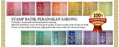 stamp sarong bird butterfly (Della Ong) Tags: woman shop indonesia clothing singapore little handmade stamp exotic fabric buy sarong batik peranakan nyonya nonya birdbutterfly