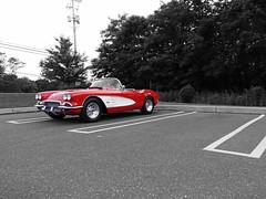 The best Corvette. (JPA Photographs) Tags: red classic cars chevrolet antique fast convertible pa exotic expensive corvette rare harrisburg