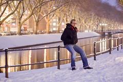 Felix (Michael M.C. Driesch) Tags: schnee winter snow felix dsseldorf kalt januar k knigsallee 2013