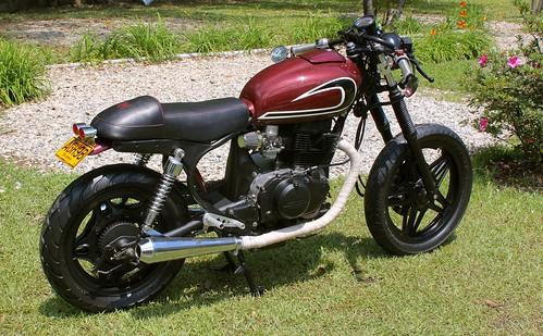 Honda Nighthawk 450 Cafe Racer Idea Di Immagine Del Motocicletta