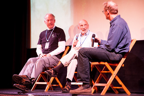 Tom Hornbein & Jim Whittaker Presentation - Photo Credit Nori Lupfer
