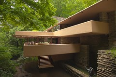 Falling Water 2013 (Jack Toolin) Tags: houses architecture design waterfall pennsylvania landmarks franklloydwright architects fallingwater kaufman