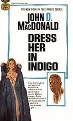 Dress Her in Indigo (McClaverty) Tags: mystery illustration paperback crime murder suspense robertmcginnis travismcgee johndmacdonald