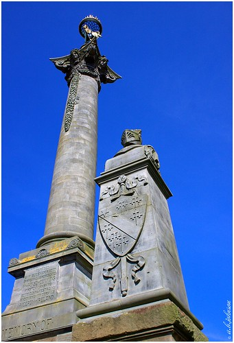 MONUMENT TO THE 7TH EARL OF CARLISLE @ CASTLE HOWARD