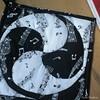mandala em patchwork (Carla Cordeiro) Tags: mandala pb livro patchwork tessellation potholder curva técnica ♫♪ ♪♫ cantomitrado costuraemcurva