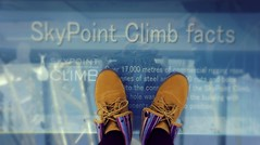 my new shoes : ) (haphopper) Tags: autumn art me yellow word logo australia font surfersparadise goldcoast  ool 2013