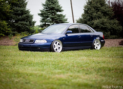 Bagged S4 (Mike Burns Photography) Tags: canon 85mm 5d b5 f18 audi s4 mikeburns stance boosted tmb dumped bagged shadybrookfarm 5dmkii rotiform mikeburnsphotography