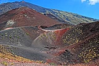 Mount Etna in Sicily, Italy