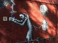 Phlegm in Chelsea (LoisInWonderland) Tags: nyc streetart character publicart phlegm