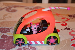 Car and Petshop 2165 (MissLilieDolly) Tags: bear horse dog chien pet pets bird car cat cheval chat panda tiger collection figurines dolly figurine miss animaux petshop tigre oiseau lilie hasbro ours 2165 missliliedolly