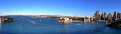 Sydney Harbour Panoroma (Seb Ian) Tags: ocean sea panorama house harbor boat opera harbour sydney scenic australia scene operahouse sydneyharbour iphone kirribilli