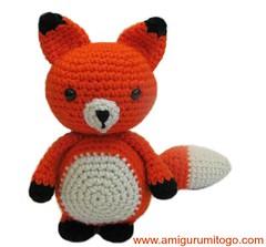 Amigurumi Fox (Sharon Ojala's Flickr) Tags: crochet tutorial freepattern