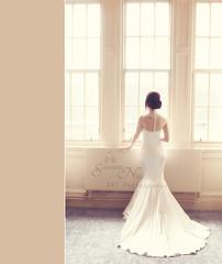 Bride (Samantha Nicol Art Photography) Tags: wedding light art window beautiful vintage hotel bride edinburgh dress samantha caledonian nicol