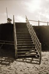 (theknark) Tags: blackandwhite beach 35mmfilm analogue selfdeveloped alternativeprocessing luckyshd100 caffenolc fujiklasse canoscan9000f