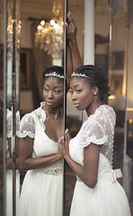 Chilston Park (Jesswright2010) Tags: wedding light white tiara cute love girl beautiful fashion wow photography mirror cool model dress bright fashionphotography stunning lovely weddingdress hg studiolighting