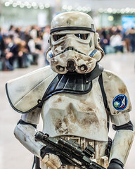 Stormtrooper at Igromir 2013 (Sergey Galyonkin) Tags: show game girl beautiful expo cosplay russia moscow games boothbabe 2013 igromir