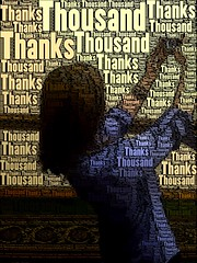 Mike's Photo: He used WordFoto to add the words over Me, my Phone, and the Screen!