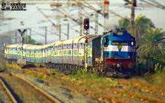 16678 WDM-3A (ED) 16613  Rajkot-Coimbatore Express. (akshaypatil™ ® photography) Tags: ed erode 16678 wdm3a rajkotcoimbatore 16678wdm3a