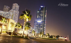 Landscape (hisalman) Tags: night canon buildings dubai jrb
