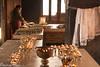 Preparing The Butter Lamps (Nick Mayo/RemoteAsiaPhoto) Tags: india festival monk offering tawang arunachalpradesh monpa