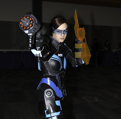 Shepherd - Mass Effect (Mike Wyner) Tags: cosplay shepherd mass effect fanimecon masseffect femshep