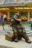 PADDINGTON (Simon R Brook) Tags: bear london station statue bronze nikon paddington 2870mmf3545d spectacled d80 simonrbrook