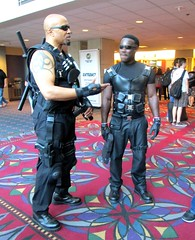 Blade, The Vampire Hunter (MorpheusBlade) Tags: costume cosplay vampire superhero blade comicon wizardworld daywalker bladetheseries bladehouseofchthon wizardentertainment bladethevampireslayer bladethevampirekiller bladethevampirehunter wizardworldphiladelphia2015