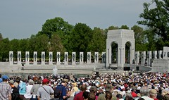 V-E Day 70th Anniversary Commemoration at the National World War II Memorial (scattered1) Tags: world park history mall us dc washington nationalpark memorial war europe day crowd ceremony victory ve event worldwarii national ii speaker nationalmall second veteran nationalparkservice 70th commemoration 70thanniversary 2015 veday commemorate victoryineurope victoryineuropeday nationalworldwariimemorial veday70thanniversarycommemoration