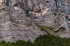 Coupe Icare (Olivier07) Tags: montagne grenoble vol falaise parapente icare geologie coupeicare