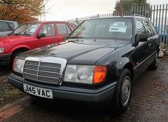 J145 VAC (1) (Nivek.Old.Gold) Tags: 1992 mercedes 230te auto speeds stratforduponavon aca
