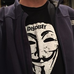 Day 287 (GearBoxTy) Tags: 365days appleiphone6 disobey thenorthface windwall guyfawkes