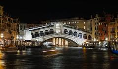 Rialto bridge (Txulalai) Tags: rialtobridge rialto venice venezia venecia italia travel arquitectura monumento puente urbana nocturna agua sonyilce6000 sonya6000 sony sonyalpha6000