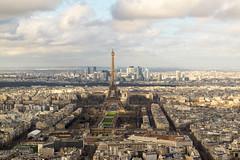 Paris (ADreamingOgre) Tags: paris clouds nikon city eiffel tower