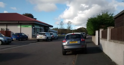 Poor Parking in Ellon