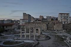 new meets old (Konstantinos Gkoumas) Tags: athens ruins