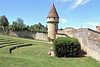 Cluny - tour d'enceinte  de l'abbaye (Chemose) Tags: abbaye abbey tour tower enceinte enclosure cluny bourgogne burgundy southburgundy bourgognedusud saôneetloire mâconnais france canon eos 7d hdr juillet july été summer