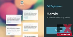 Preview Heroic A Timeline Ghost Blog Theme Emery Marshal (ElizabethEstrada) Tags: blogtemplates ghosttemplates minimaltemplates personaltemplates pluginherotemplates simpletemplates timelinetemplates transparency
