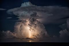 Bahamas Thunderstorm (Bobby Wummer) Tags: thunderclouds thunderstorm thunderstorms weather clouds storms stormchaser stormchasing storm rain oceanstorm ocean oceanscape seascape bobbywummerphotography