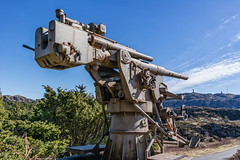 """Anti-aircraft gun from WW2"" (Terje Helberg Photography) Tags: fjellfestning fjellfortress canon gun blue sky ww2 fortress antiaircraft fjell"