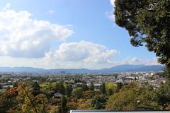 Blick von der Pagode auf die Stadt