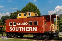Talmo Train Depot (The Suss-Man (Mike)) Tags: caboose city georgia jacksoncounty oldbuildings oldcity rural ruralcity ruralgeorgia sonyslta77 sussmanimaging talmo thesussman train unitedstates