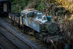 """""""Untouched"""" USA Tank WD1959 (VehicularBrit) Tags: southern war department tank engine steam train loco locomotive smoke coal fire moss mould old broken bluebell railway rail british br bridge horsted keynes shunter classic heritage preservation freight passenger sheffield park spark"""