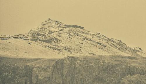 Snow on Snowdon.