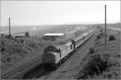 37417 Llanddulas (RyanTaylor1986) Tags: class 37 374 37417 highland region llanddulas noth wales coast railway regional railways north west loco hauled passenger train