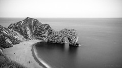 Those were the days (OR_U) Tags: 2016 oru uk jurassiccoast dorset durdledoor sea ocean channel le longexposure 169 widescreen coast coastline arch limestone